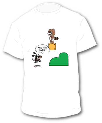 Funny Coon Hunting tee